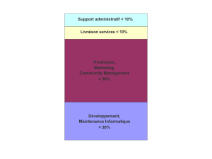 Structure des coûts